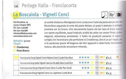 perlage italia franciacorta la boscaiola vigneti cenci 2015